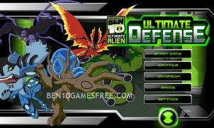 Ben 10 Ultimate Defense Game