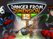 Ben 10 Danger From Dimension 12 Game