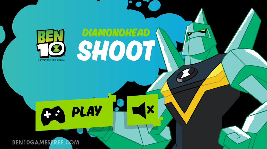 ben 10 diamondhead shoot play game online free download