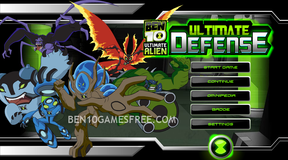 free online ben 10 ultimate alien games