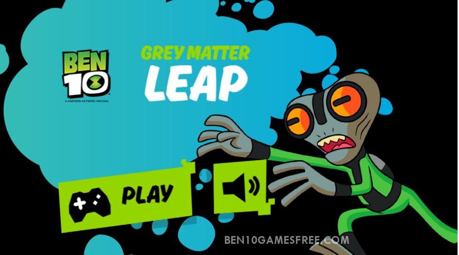 Ben 10 Grey Matter Leap