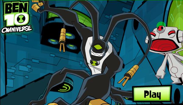 Ben 10 Omniverse vs Robot