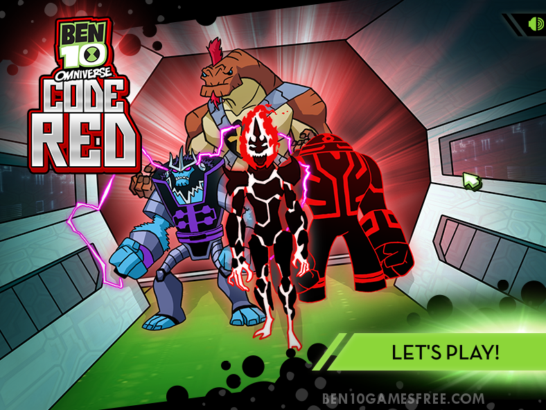 Ben 10 Omniverse Code Red | Play Game Online & Free Download